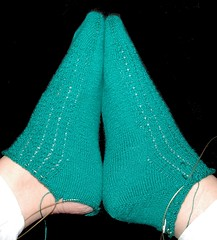 turned one heel