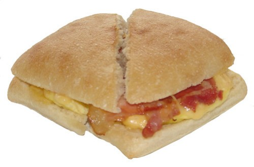 Starbucks Artisan Bacon, Egg & Gouda Breakfast Sandwich