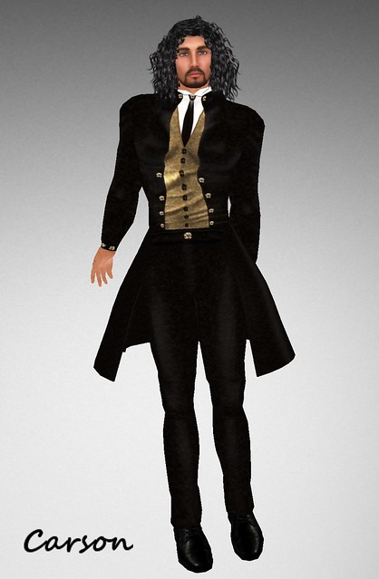 + ezura + STEAM 3 Male Gift Outfit ChiChickie! (CC! for Men) Damian -