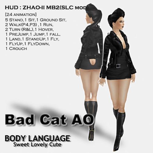 Bad Cat AO set