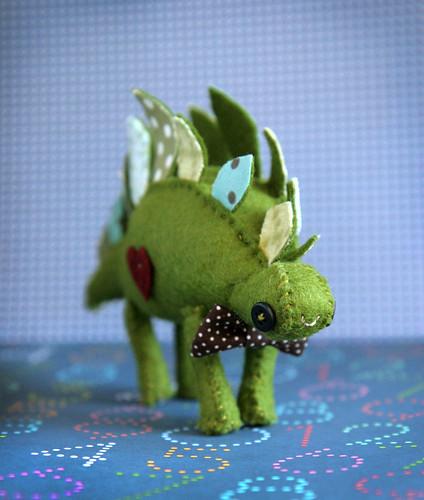 Custom Wedding Cake Stegosaurus