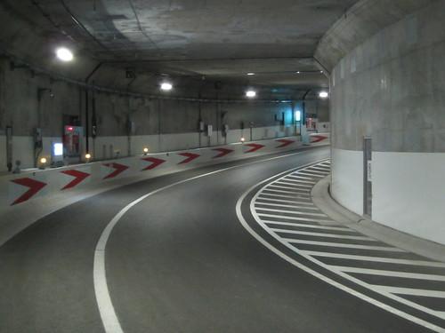 首都高体感ウォーキング 川崎みらいトンネル
