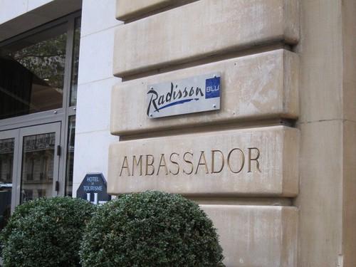 Paris. Radisson BLU Ambassador