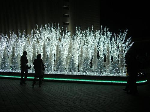 Nagoya's Christmas lights, 2010