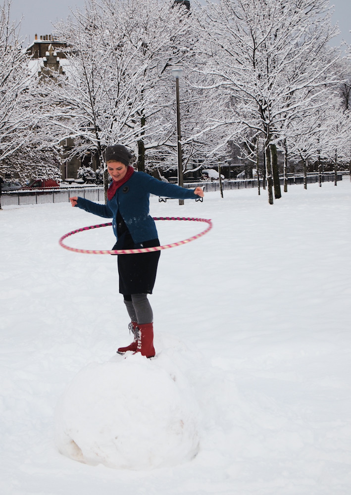 snowball hooping