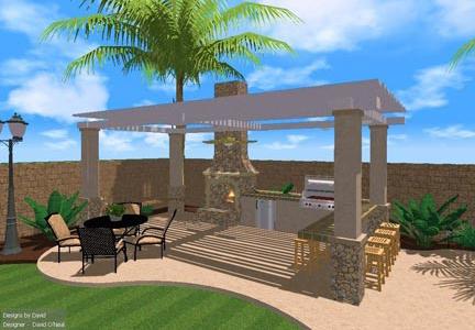 Outdoor Entertaining Area Designs on Small Backyard Entertainment Area Ideas id=34990