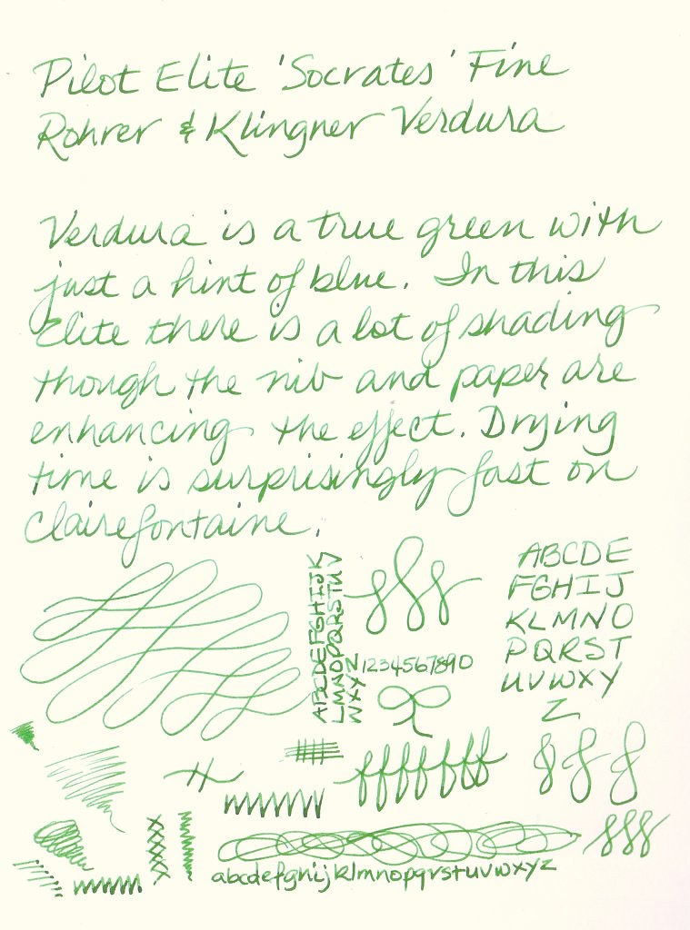 Rohrer & Klingner Verdura Ink