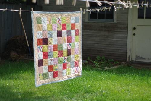 Selje's quilt
