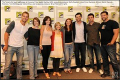 smallville at comic con