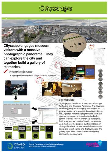 Capstone project poster: CityScape