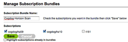 manage subscription bundles in delcious