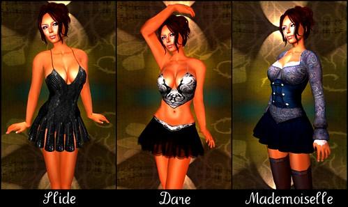 BLOG:  Solange - Slide, Dare, Mademoiselle