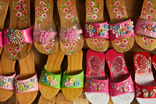 Girls' Chinese Style Slippers