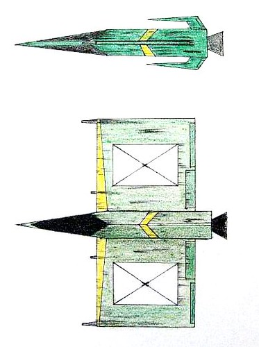 Eight-wing Starfighter