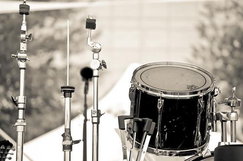 Drum Set On Break