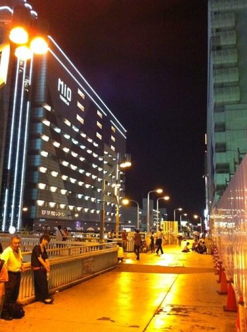 天王寺夜 - 2010.08.31