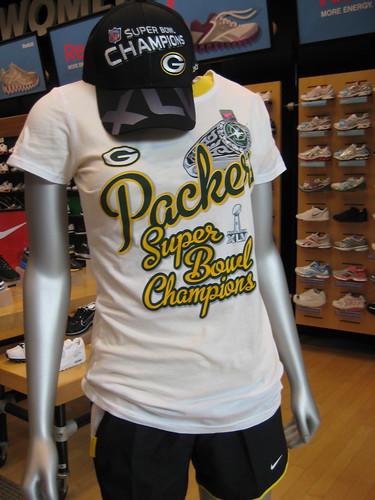 Packers girl t-shirt