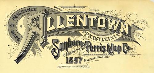 Allentown, Pennsylvania 1897