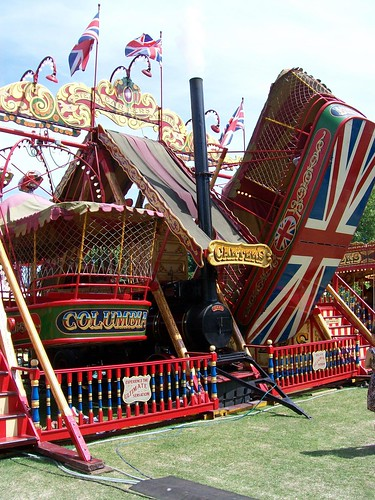 Steam powered pirate ships