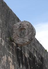 2010  Mexico 175e stone ring for ball game