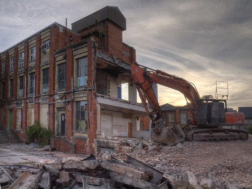 Demolition HDR by bananabat