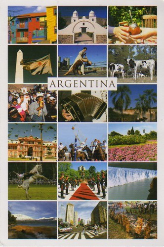 Unofficial postcard from Argentina