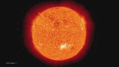 Solar Storm on August 1, 2010 as seen by STERE...