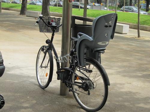 Bicicleta en Recoletos