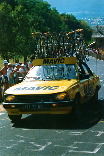 Mavic Neutral Service Vehicle, World Professional Road Race Chambéry 1989
