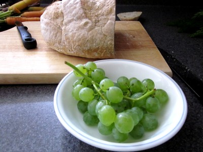 Grapes for lunch