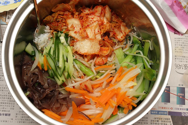 小毛的塗ㄚ圖ㄚ畫畫誌: 自製美食-韓式拌飯