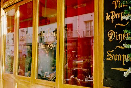 Through a Cafe Window