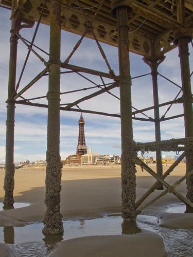 Blackpool- Under Central Pier