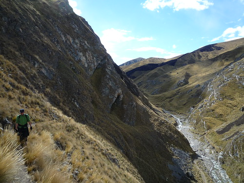 Friedrich wandert in den Anden