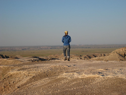 me at the badlands