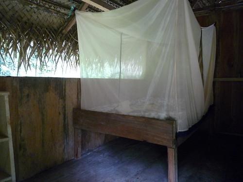 Unser Zimmer in der Cuyabeno Lodge