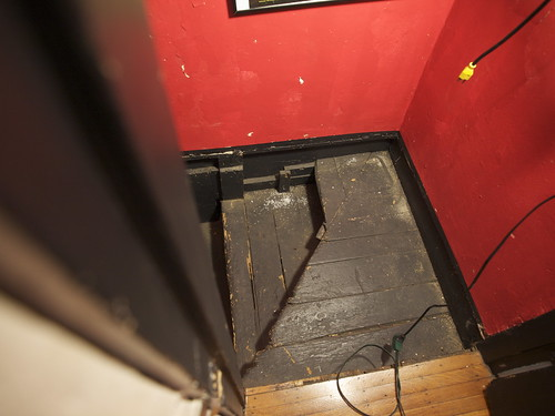 Basement Stair Repair- Before