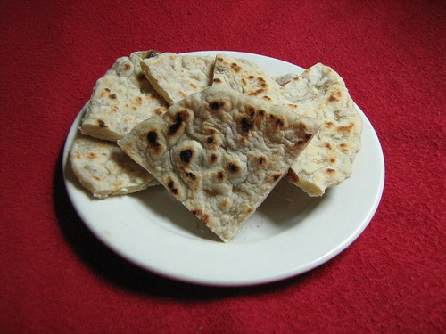 peshwari roti, pieces