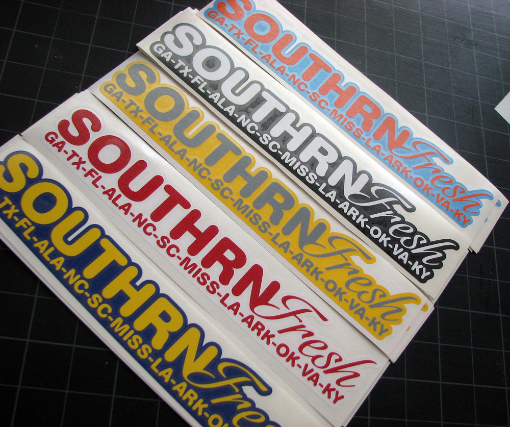 SOUTHRNFRESH STICKERS ARE HERE