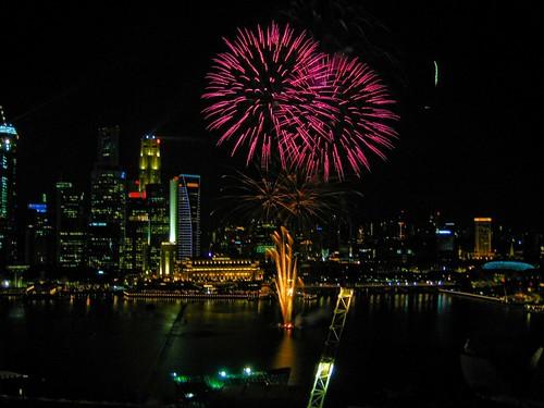 YOG closing fireworks