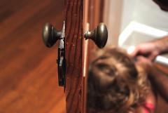 pine door knob