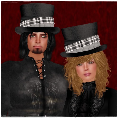 Hatpins - Jordan Top Hat - Couple