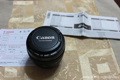 [鳴謝]老公的愛心~Canon EF 50mm f/1.4 USM定焦鏡+小蛋糕 @VIVIYU小世界