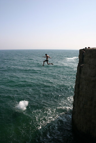 Cliff Jumping 4