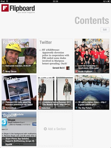 Flipboard - personalized social magazine for #ipad @flipboard