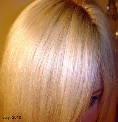 How To Bleach Your Hair Platinum Blonde Or White Krista Robyn