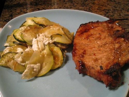Pork Chops & Gratin