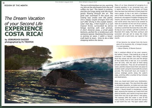 Prim Perfect Issue 27 - Summer 2010: Inside page - Coata Rica