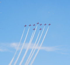 Red Arrows at Minehead