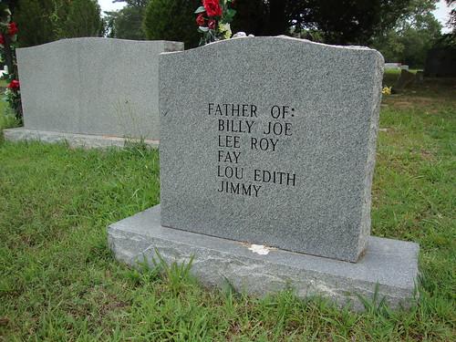 Head Springs Cemetery, Valley Springs AL